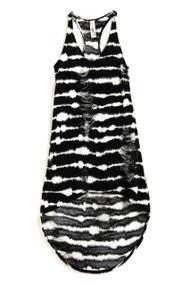 [Sample] Sassy, loose fit dual tone dress