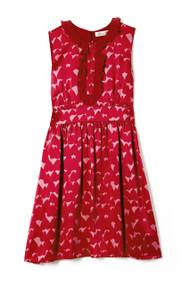 [Sample] Sass & Bide, sea of red floral print dress