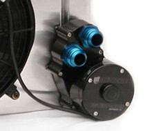 Radiator Mount Water Pump - Dual Outlet
