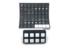 Racepak SmartWire Keypad includes Keypad & decal sheet