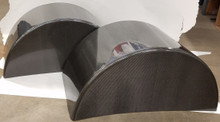 "36"" Carbon Fiber Wheel Tubs - Blem"