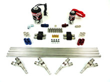 Induction Solutions 19274 4 Cylinder Nitrous Plumb Kit