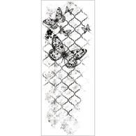 Kaisercraft Clear Texture Stamps - Flutter