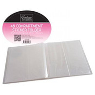 Couture Creations - Sticker Folder - holds 96 Stickers