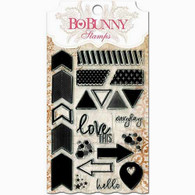 """Bo Bunny - 4x6"""" Stamp Sets - To The Point"""