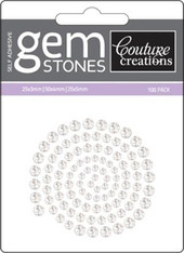 Couture Creations - Self Adhesive Gemstones - Crystal