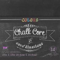 Core'dinations - Colors Chalk Core 12x12 - 5 colors/10 sheets