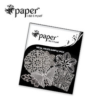 Metal filigree assorted pack