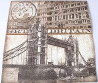 Paper Collage Napkins: Great Britain