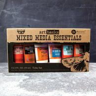 Prima- Finnabair Art Basics: Mixed Media Essentials 6 pack (2 oz tubes) (SD963262)