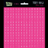 Glitz Design- Teeny Alpha - Pink Block (SDC2815)