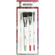 Ranger / Dina Wakley Media Brushes 4 Pack (SDMDA55761)