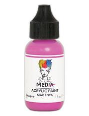 Ranger/ Dina Wakley Media Heavy Body Acrylic Paint 29ml (1 fl.oz)- Magenta (SDMDQ54047)