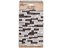 Tim Holtz Idea-ology Big Chat Stickers (SDTH93192)
