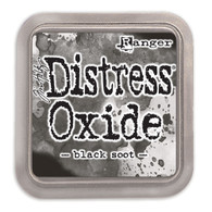 Ranger/ Tim Holtz Distress Oxide Ink Pad- Black Soot (SDTDO55815)