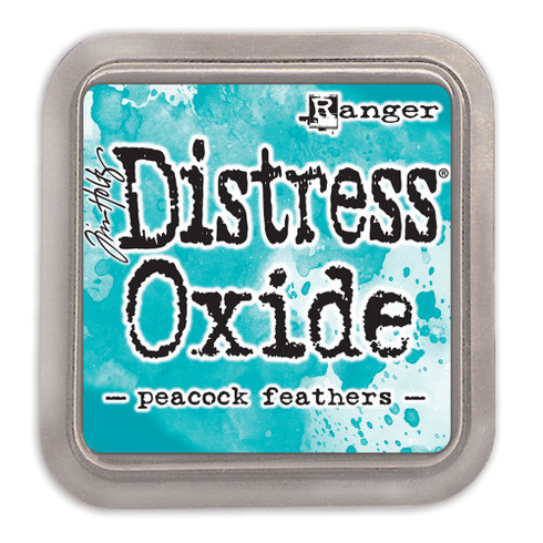 Ranger/ Tim Holtz Distress Oxide Ink Pad- Peacock Feathers (SDTDO56102)
