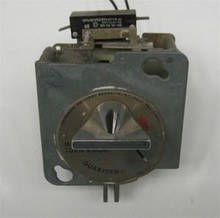 * Dryer 110V Greenwald Round Faced  25¢ Coin Meter (drop) 1 switch Speed Queen