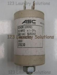 * Washer Capacitors  10MFD Unimac, 370230