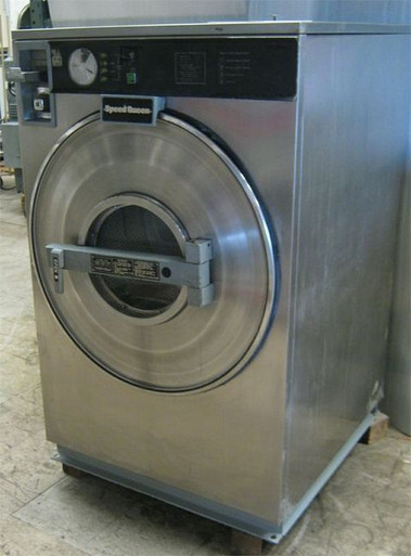 Maytag Washer Extractor ~ Speed queen lb front load washer wx