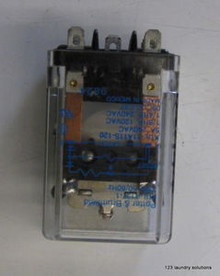 Milnor Front Load Washer 120v Latch Relay