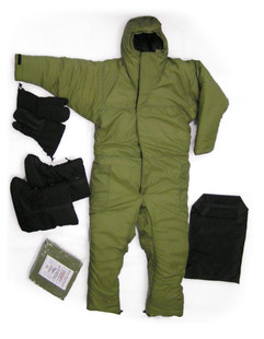 Walk-Around Snow Suit (Convertible Sleeping Bag)