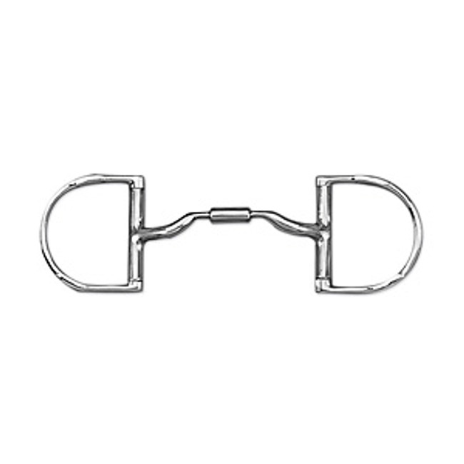 Myler MB04 English Dee with Hooks 5""
