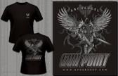 Gun Point Archangel - LWRC M6IC Logo Shirt