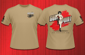 Gun Point Girl - SPWS Logo Shirt (FDE)