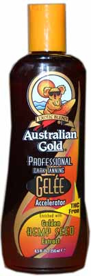 Australian Gold Gelee Hemp Seed Extract Accelerator Tanning Lotion
