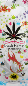 Most Black Hemp 12X Dark Tanning Lotion Accelerator Tanning Lotion Packet