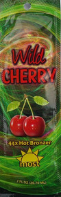 Most Wild Cherry 44X Hot Action Tingle Bronzer Tanning Lotion Packet