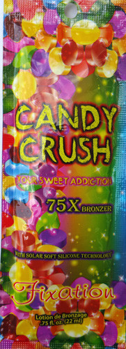 Ultimate Candy Crush 75X Bronzer with Solar Silicone Technology Tanning Lotion Packet