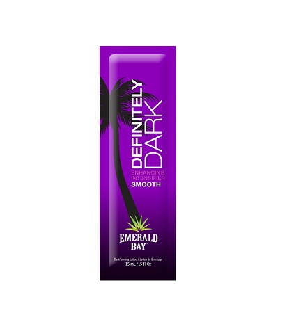 Emerald Bay Definitely Dark Advanced Intensifier Tanning Lotion Packet