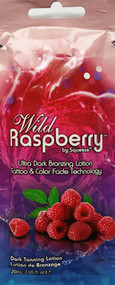 Squeeze Wild Raspberry Ultra Dark Bronzing Tattoo & Color Fade Technology Tanning Lotion Packet