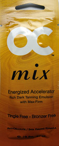 OC Mix Energized Accelerator Rich Dark Tanning Emulsion with Max-Firm Tanning Lotion Packet