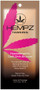 Hempz Hypoallergenic Dark DHA Bronzer Enriched with Hemp Seed Oil Tanning Lotion Sample Packet