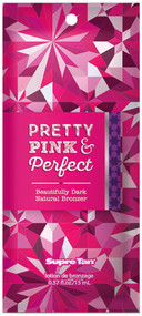 Supre Tan Pretty Pink & Perfect Beautifully Dark Natural Bronzer Tanning Lotion Sample Packet