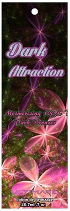 Ultimate Dark Attraction Mesmerizing 100X Dark Bronzer Tanning Lotion Sample Packet