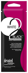 Devoted Creations White 2 Black Pure Pomegranate Fast Acting Intensifier Tanning Lotion Packet