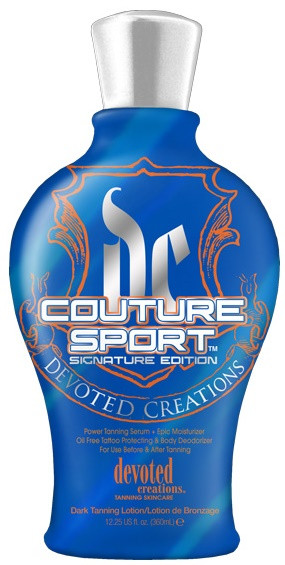 Devoted Creations Couture Sport Signature Edition Power Tanning Serum & Epic Moisturizer Tanning Lotion