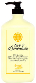 Devoted Creations Love & Lemonade Skin Quenching After Sun Daily Moisturizer with Ultra Hydrating Aloe, Cucumber & Vitamin C