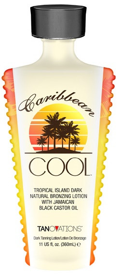 Ed Hardy Caribbean Cool Tropical Island Dark Natural Bronzing Lotion with Jamaican Black Castor Oil