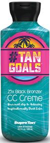 Supre Tan #Tan Goals 25X Black Bronzer CC Creme Tanning Lotion