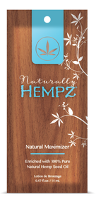Hempz Naturally Hempz Natural Maximzer Enriched with 100% Hemp Seed Oil Tanning Lotion Sample Packet