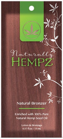 Hempz Naturally Hempz Natural Bronzer enriched with 100% Hempz Seed Oil Tanning Lotion Sample Packet