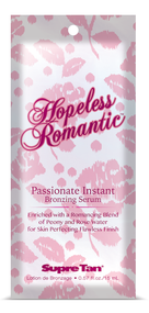 Supre Hopeless Romantic Passionate Instant Bronzing Serum Tanning Lotion Sample Packet