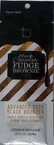 Tan Incorporated Black Chocolate Fudge Brownie Advanced 200X Black Bronzer Tanning Lotion Sample Packet