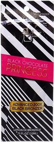 Tan Incorporated Black Chocolate Princess Advanced 200X Black Bronzer Tanning Lotion Sample Packet