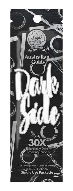 Australian Gold Dark Side 30X Relentlessly Dark Bronzing Tanning Lotion Packet