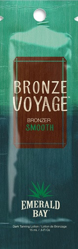Emerald Bay Bronze Voyage Bronzer Smooth Dark Tanning Lotion Packet